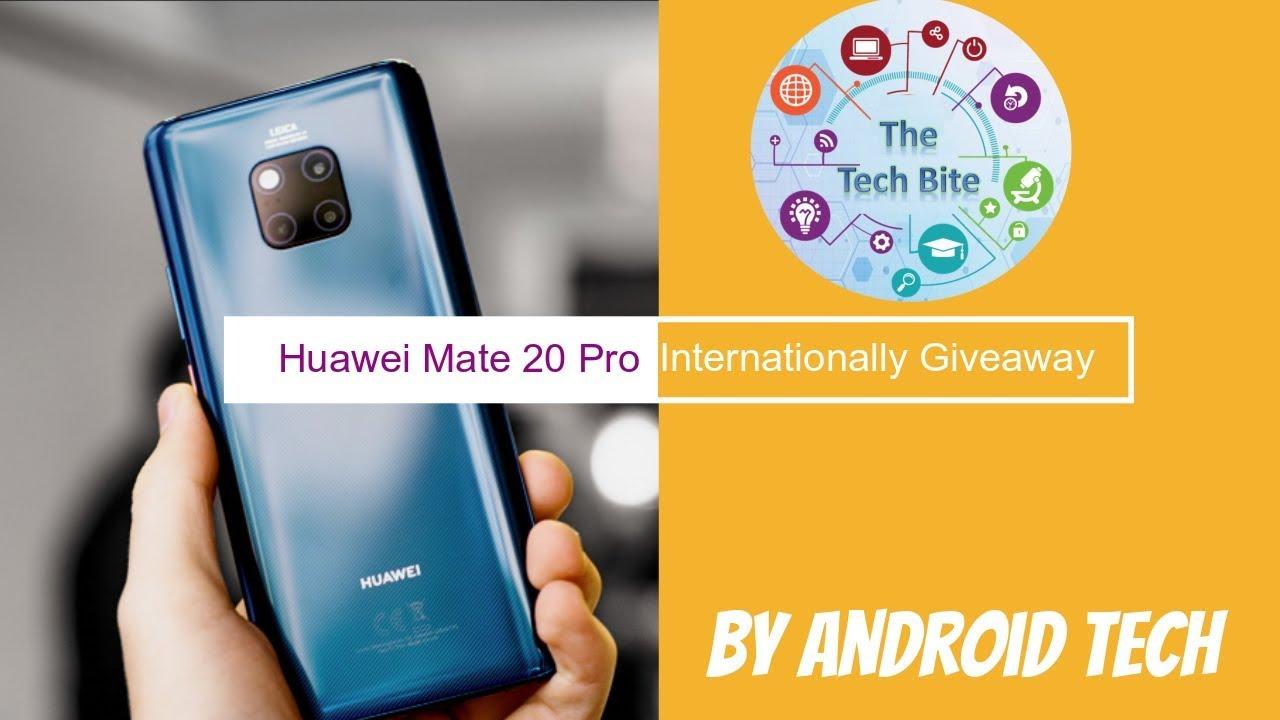 Huawei Mate 20 Pro Giveaway