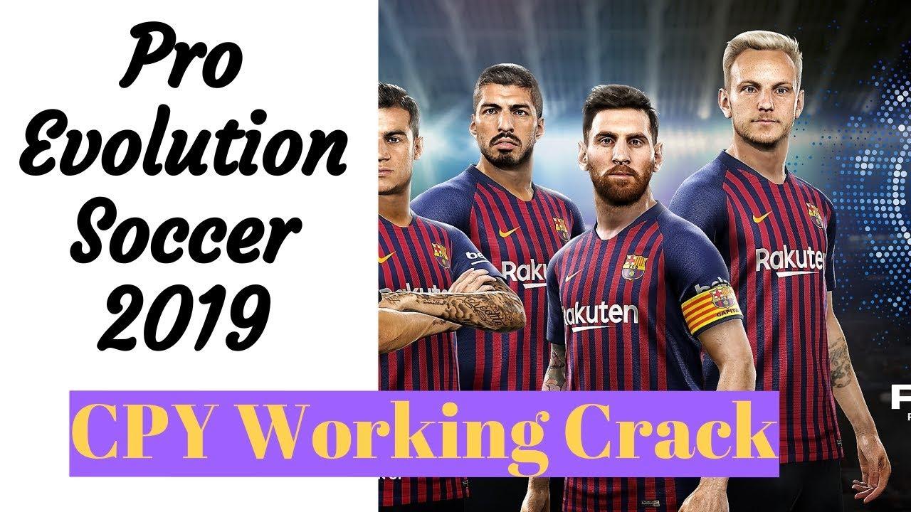Pro Evolution Soccer 2019 Crack