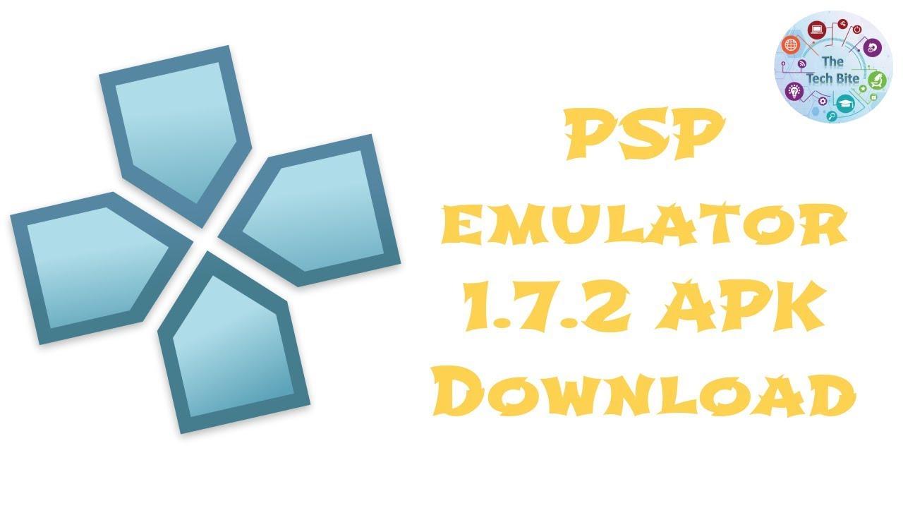 PSP emulator 1.7.2 APK
