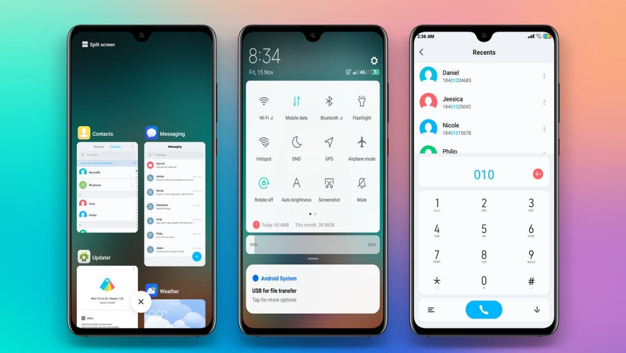 EMUI Themes Collection for All Xiaomi Redmi Devices