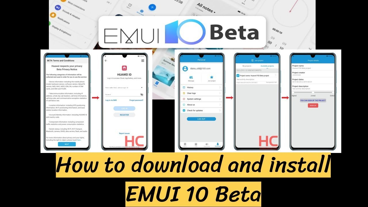 How to download and install EMUI 10 Beta