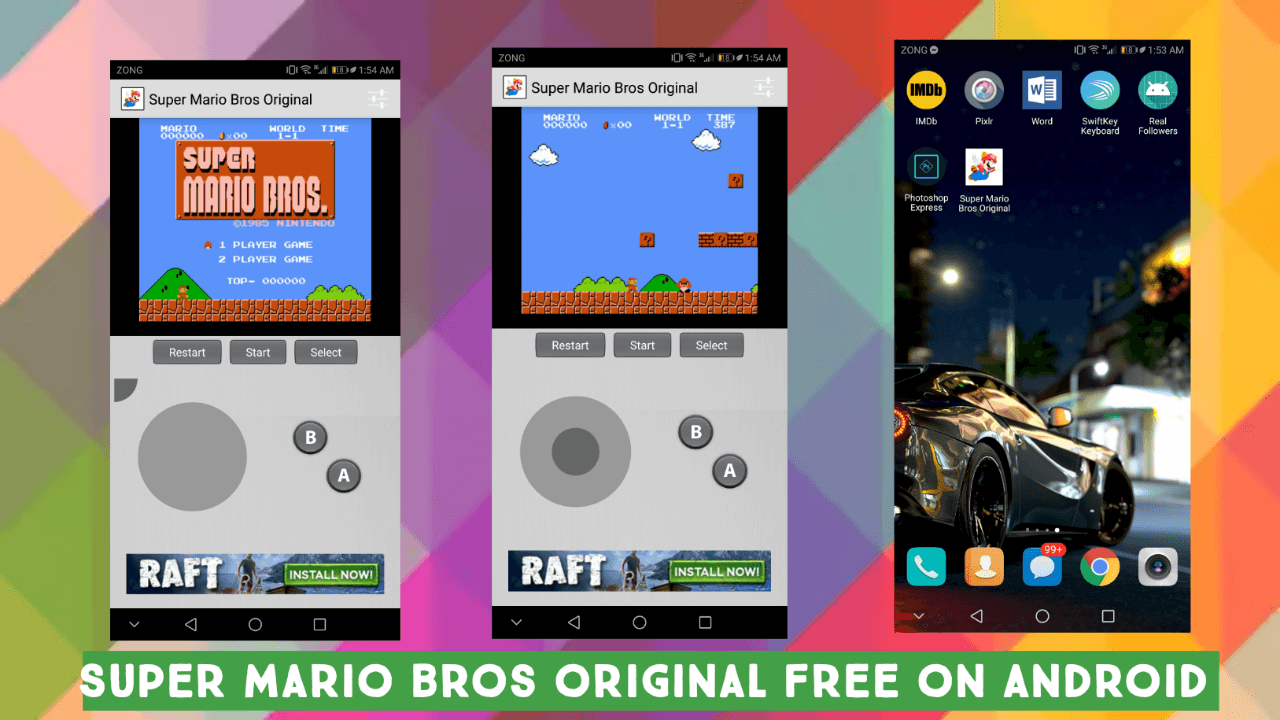 Super Mario Bros Download Free