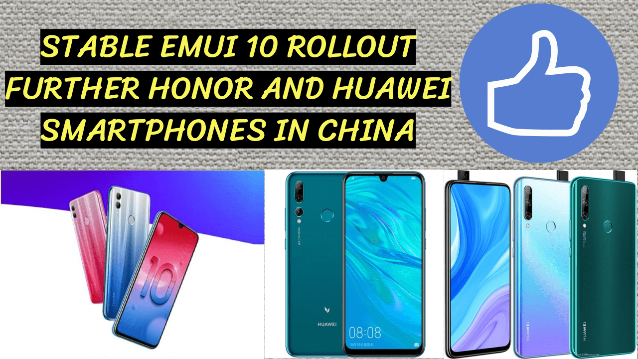 Stable Emui 10 Rollout