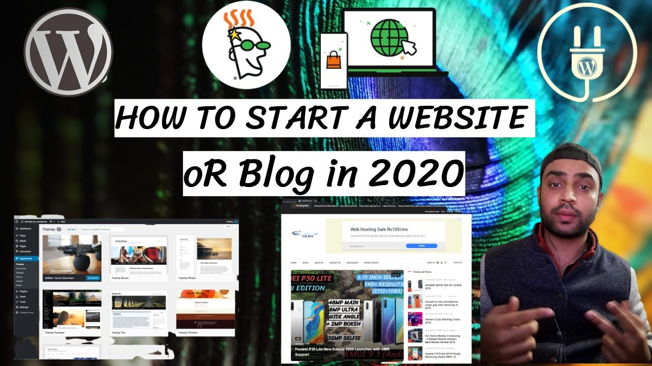 Start a Website or Blog in 2020