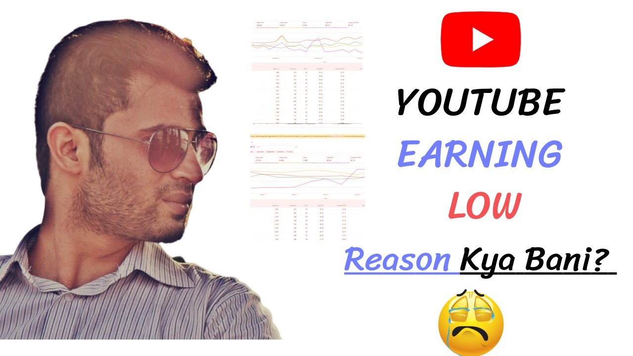 Youtube Earning Low