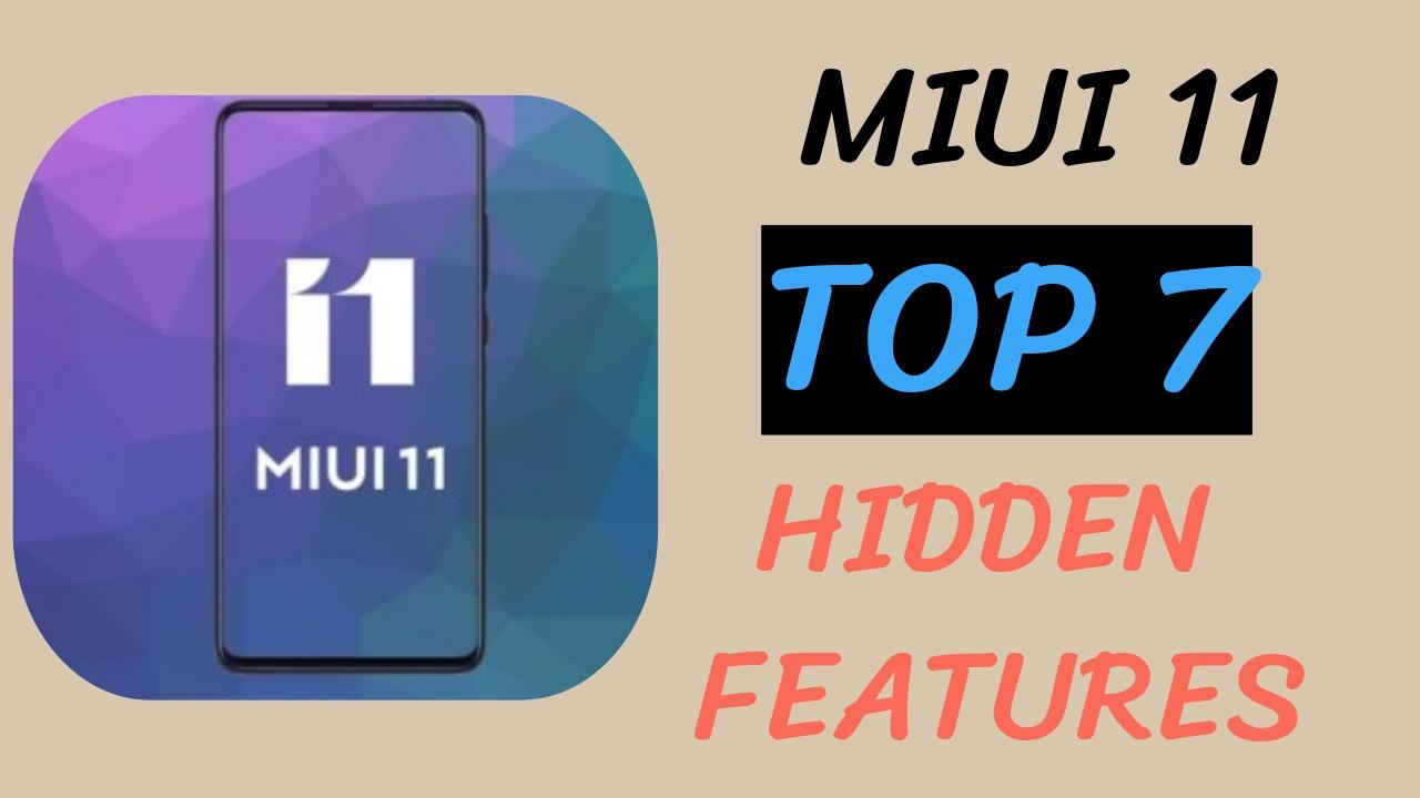 MIUI 11 HIDDEN FEATURES