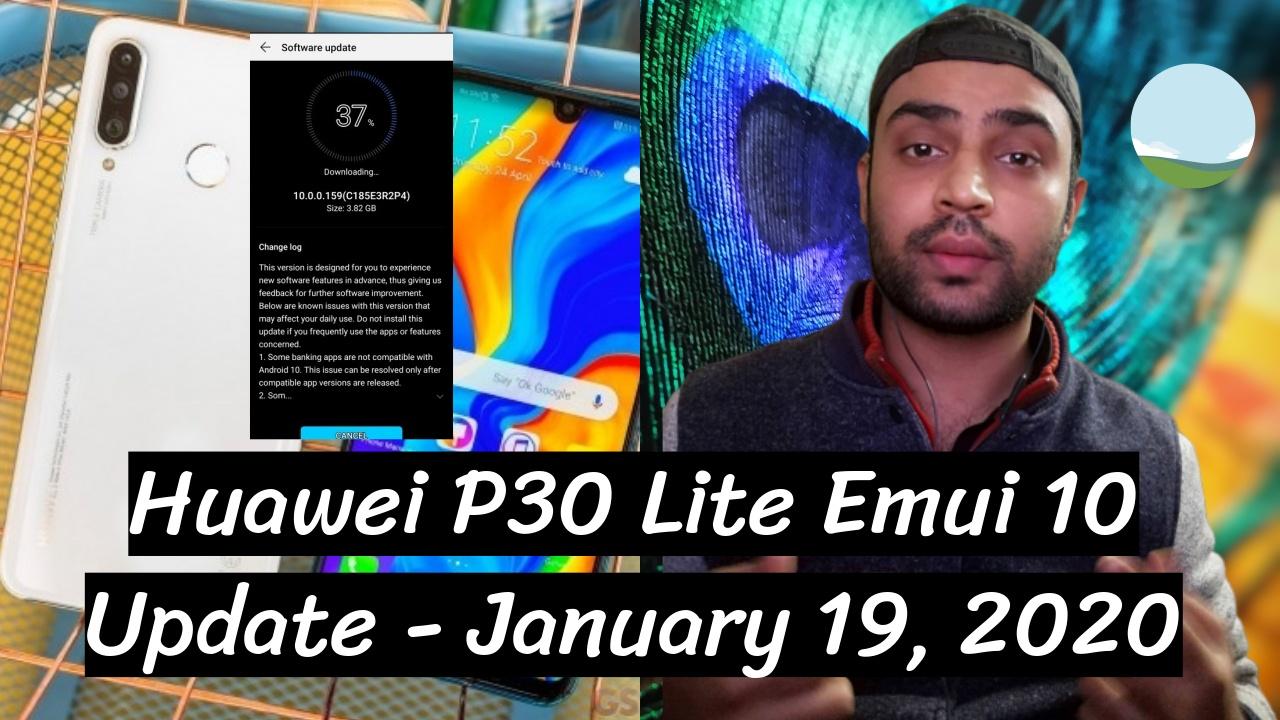 Huawei P30 Lite Emui 10 Update