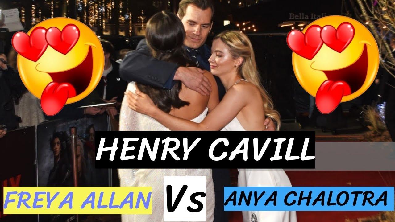 Henry Cavill vs Freya Allan vs Anya Chalotra Love Meme 2020