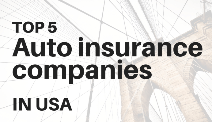 Top 5 USA Auto Insurance Companies of 2020