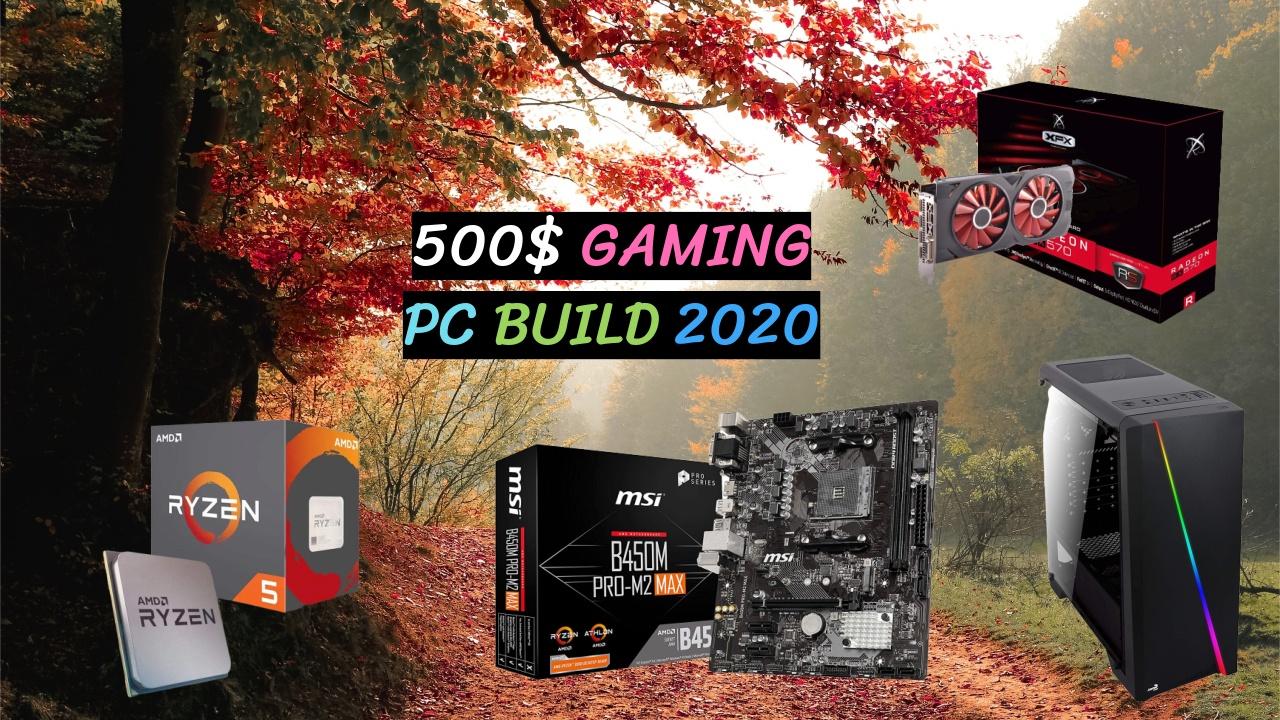 500$ Gaming Pc Build