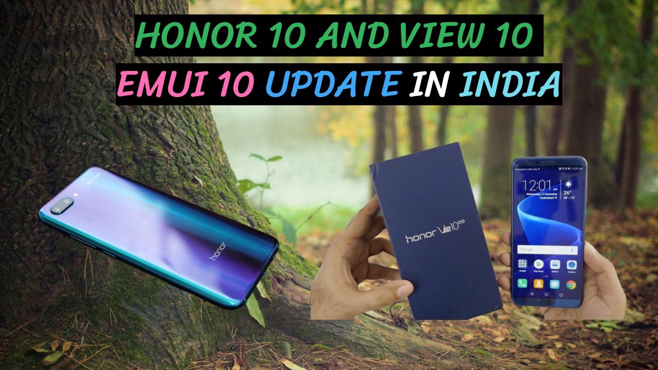 Honor 10 Emui 10