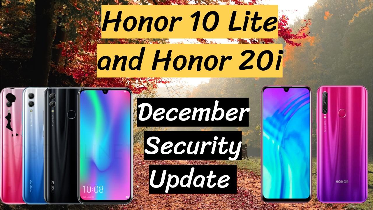 Honor 10 Lite Emui 10 Update