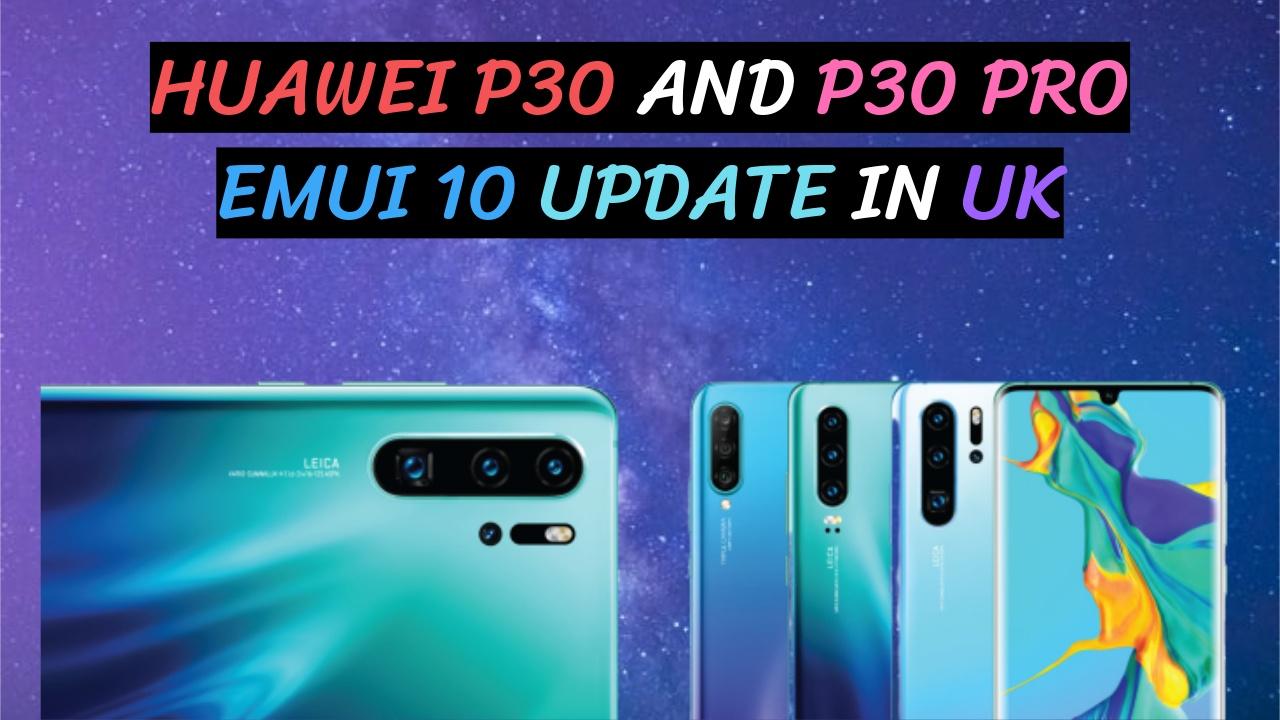 Huawei P30 Pro Emui 10