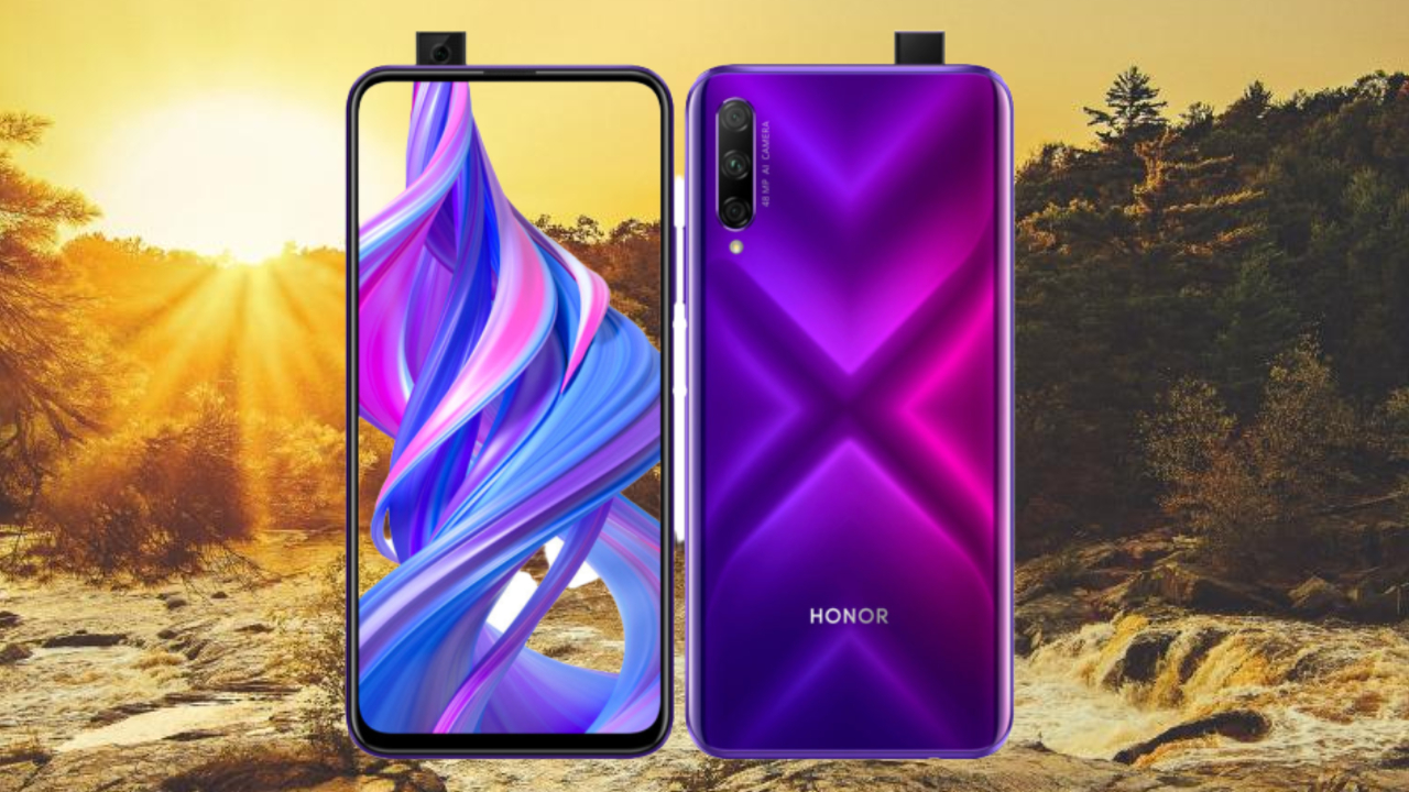 Honor 9x Pro Debut