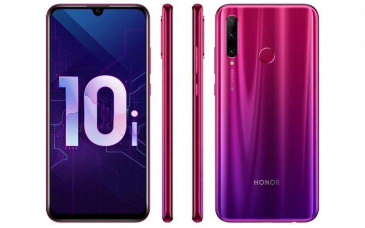 Honor 20 lite Emui 10