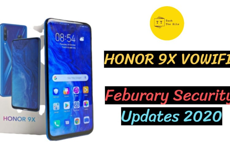 Honor 9x VoWiFi