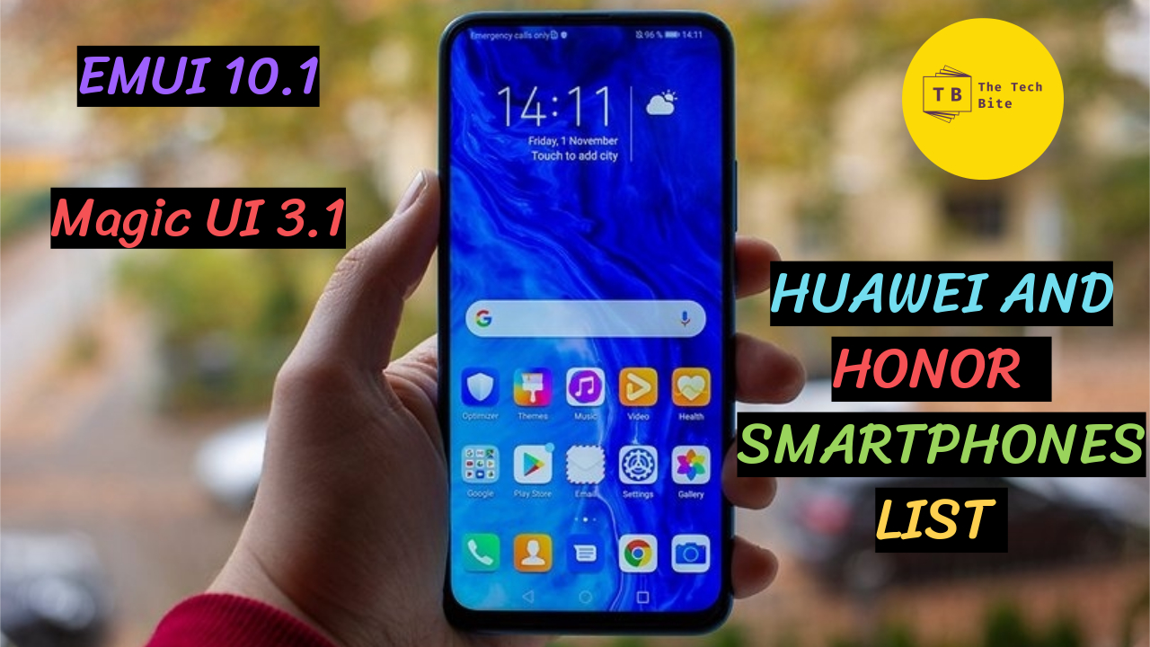 EMUI 10.1/Magic UI 3.1 Huawei and Honor Devices List 2020