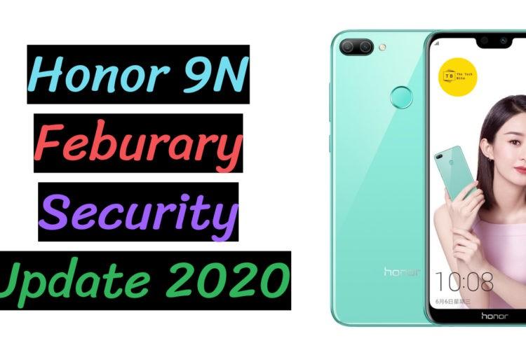 Honor 9N Security Update