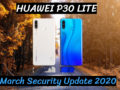 Huawei P30 Lite March Security Update 2020
