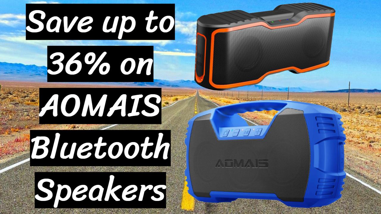 AOMAIS Bluetooth Speakers