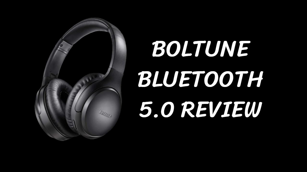 Boltune noise cancelling headphones bluetooth 5.0 // Best Boltune Bluetooth Uk 2020