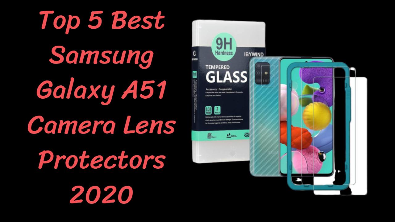 Samsung Galaxy A51 Camera Lens Protectors